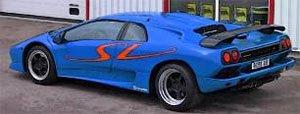 ランボルギーニ ディアブロ SV (ブルー) (ミニカー)