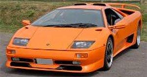 ランボルギーニ ディアブロ SV セカンドシリーズ (オレンジ) (ミニカー)