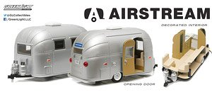 Airstream 16` Bambi Sport - Silver (ミニカー)