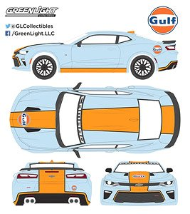 2016 Chevy Camaro Gulf Oil (Hobby Exclusive) (ミニカー)