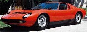ランボルギーニ ミウラ P400 S トリノ モーターショー 1968 (ミニカー)