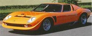 ランボルギーニ ミウラ SVJ S/N 4088 N.Cage (ミニカー)