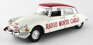 シトロエン DS 19 ラジオ モンテカルロ ツール・ド・フランス 1962グランプリ・デ・モナコ 1933 - L.Chiron #16 (ミニカー)