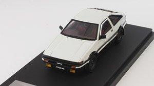 トヨタ スプリンタートレノ (AE86) GT APEX (スポーツホイール) ホワイト (ミニカー)
