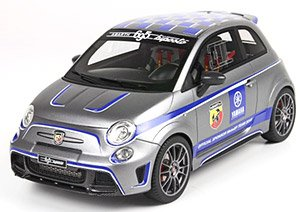 ABARTH 695 Biposto Yamaha Factory Racing Edition 2015 YAMAHAカラー (マットグレー) ケース付 (ミニカー)
