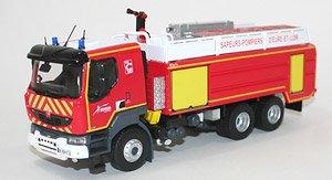 ルノー Kerax 消防車両 CCGC GALLIN SDIS 28 (ミニカー)