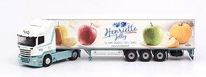スカニア ストリームライン ハイライン トレーラトラック HENRIETTE JOLLY (ミニカー)