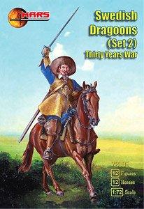 三十年戦争スウェーデン竜騎兵Part2・12騎 (プラモデル)