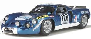 アルピーヌ A220 ショートテール (アルピーヌ ブルー) Cevennes Rally 1969 Jabouille/Guenard (ミニカー)