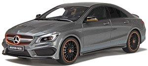 メルセデス ベンツ CLA45 AMG オレンジアート エディション (マウンテングレー) (ミニカー)
