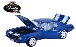 M2 Machines 1:24 scale Release 52A - 1969 Chevrolet Camaro RS - FOOSE Special Edition (ミニカー)