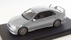 トヨタ アルテッツァ RS 200(カスタムバージョン) シルバーメタリック (ミニカー)