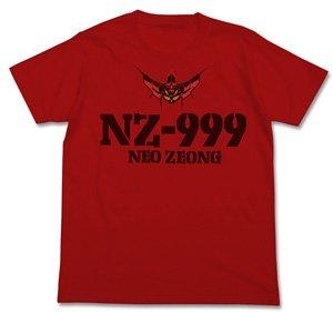 機動戦士ガンダムUC ネオ・ジオング Tシャツ RED M (キャラクターグッズ)