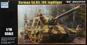 ドイツ軍 Sd.kfz.186 ヤークトティーガー (プラモデル)
