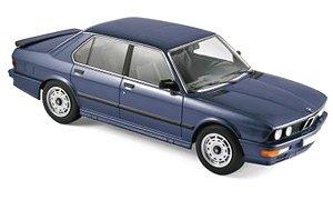 BMW M535i 1987 ブルー メタリック (ミニカー)