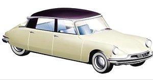 シトロエン DS19 1956 シャンパン & オーベルジーヌ - サロン ド パリ 1955年10月 (ミニカー)