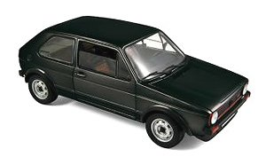 フォルクスワーゲン Golf GTI 1976 ブラック (ミニカー)