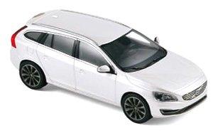 ボルボ V60 2013 クリスタル ホワイト メタリック (ミニカー)