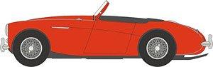 オースチン ヒーレー 100 BN1 (Roof down) カーマインレッド (ミニカー)