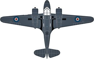Airspeed Oxford PH185 778 Sqn.Fleet Air Arm (完成品)