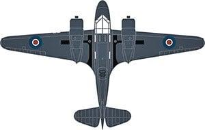 Airspeed Oxford PH185 778 Sqn.Fleet Air Arm (完成品)