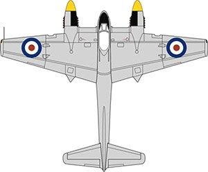 DH103 シーホーネット TT197 728 Squadron Malta 1953 (完成品)