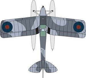 DH タイガーモス Floatplane Royal Navy T7187 (完成品)