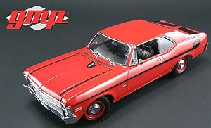 1970 Chevy Nova Yenko Deuce - Cranberry Red (ミニカー)