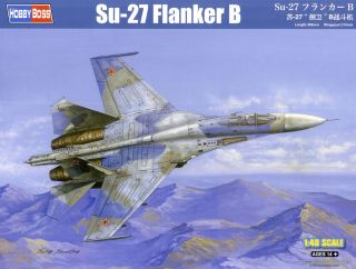 designed to Be Assembled 8591437321377 Sukhoi Su-27B Flanker Exterior