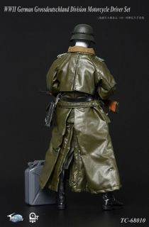 TOYS CITY Coat WWII GERMAN MOTORCYCLE DRIVER 1//6 ATION FIGURE TOYS did
