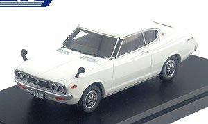NISSAN VIOLET HARDTOP 1600 SSS (1973) ホワイト (ミニカー)