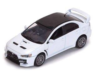 三菱 ランサー エヴォリューション X ファイナルエディション パールホワイト (ミニカー)