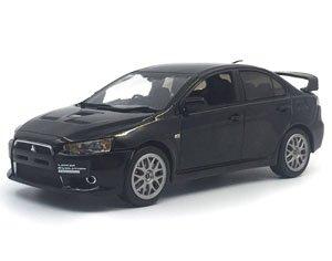三菱 ランサー エヴォリューション X ファイナルエディション ファントム ブラック マイカ (ミニカー)