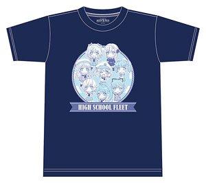 ねんどろいどぷらす ハイスクール・フリート Tシャツ M (キャラクターグッズ)