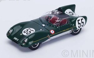 Lotus XI No.55 14th Le Mans 1957 C.Allison - K.Hall (ミニカー)