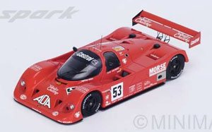 Porsche 962 Gti No.53 12th Le Mans 1992 D.Bell - J.Bell - T.Needell (ミニカー)