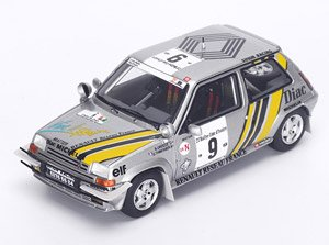 Renault 5 GT Turbo No.9 Winner Ivory Coast Rally 1989 A.Oreille - G.Thimonier (ミニカー)