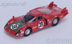 33/2 No.39 4th Le Mans 1968 I.Giunti - N.Galli (ミニカー)
