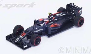 McLaren MP4-31 No.22 (Race TBC) 2016 Jenson Button (ミニカー)