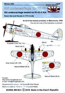 一式戦闘機二型改用 スキー着陸装置 (プラモデル)