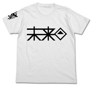 ダンガンロンパ3 The End of 希望ヶ峰学園 未来機関Tシャツ WHITE M (キャラクターグッズ)