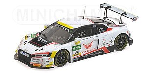 アウディ R8 LMS `CAR COLLECTION MOTORSPORT` LOPEZ / VAN DER LINDE ADAC GTマスターズ 2016 (ミニカー)
