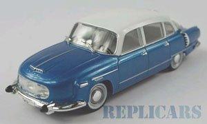 タトラ 603 1970 ブルー/ホワイト (ミニカー)