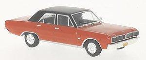 ダッジ チャージャー R/T 1975 レッド/ブラック (ミニカー)