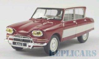 Citroen Ami 6 1961 Red White Whitebox 1:43 WB155