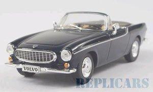 ボルボ P1800 コンバーチブル ボルボヴィラ 1963 ダーク ブルー (ミニカー)