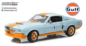 1967 Shelby GT-500 Gulf Oil - Light Blue with Orange Stripes (Shelby Hood) (ミニカー)