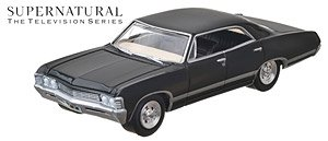Supernatural (2005-Current TV Series) - 1967 Chevrolet Impala Sedan (ミニカー)
