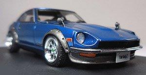Nissan Fairlady Z (S30) Blue ※Hayashi-Wheel (ミニカー)