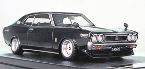 Nissan Laurel 2000SGX (C130) Black (ミニカー)